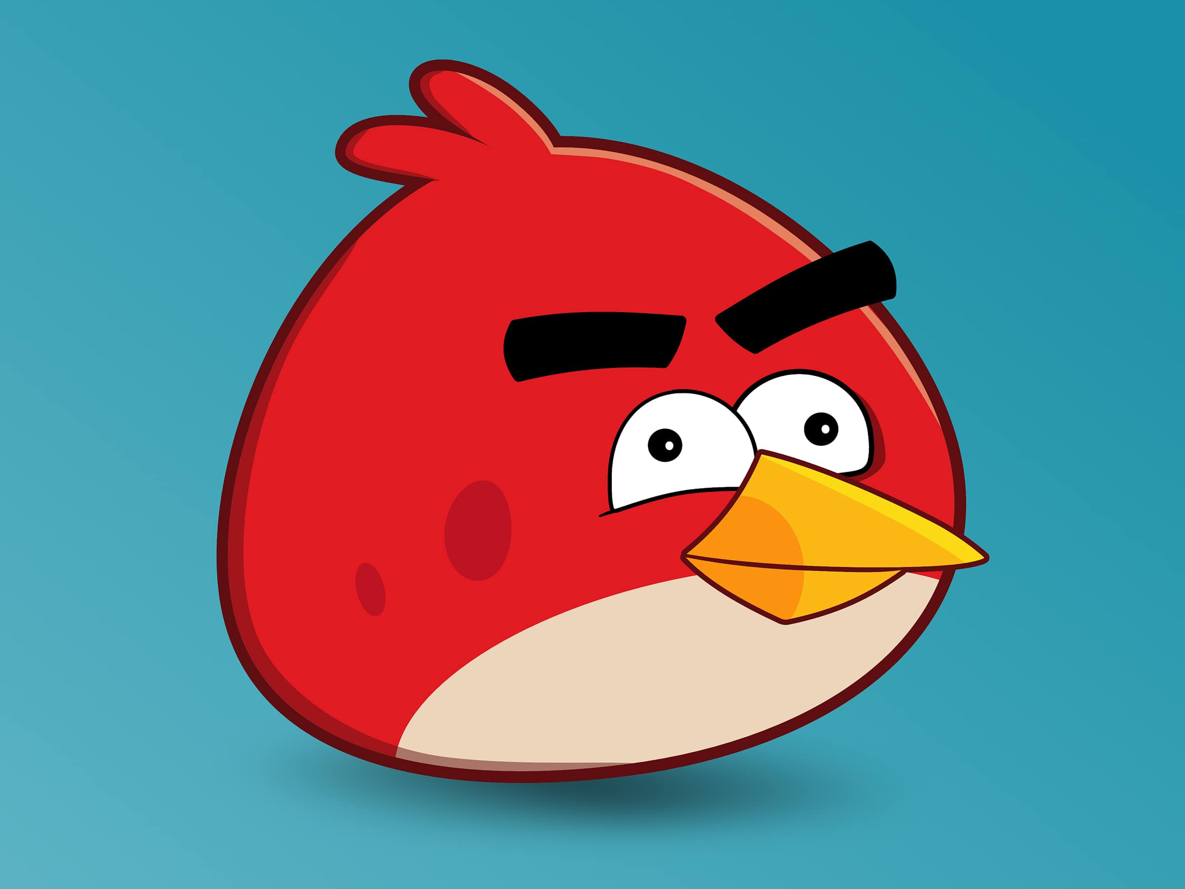 Der rote Angry Bird